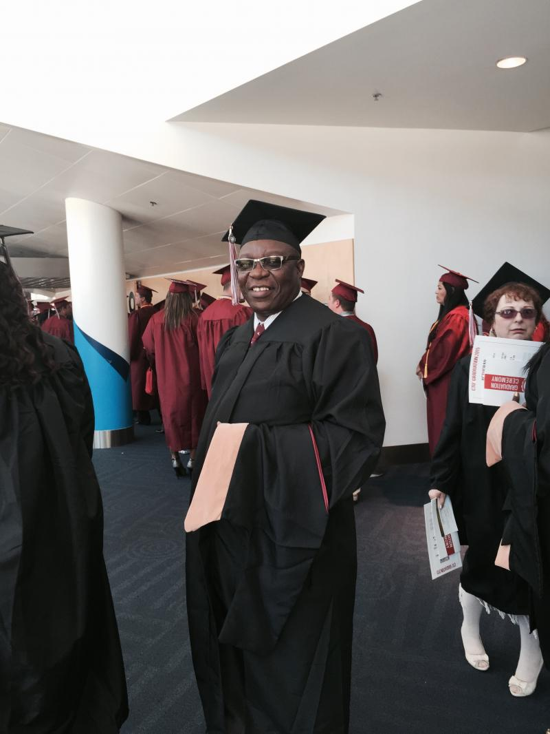 John Davies, Graduating with MBA from Colorado Technical University